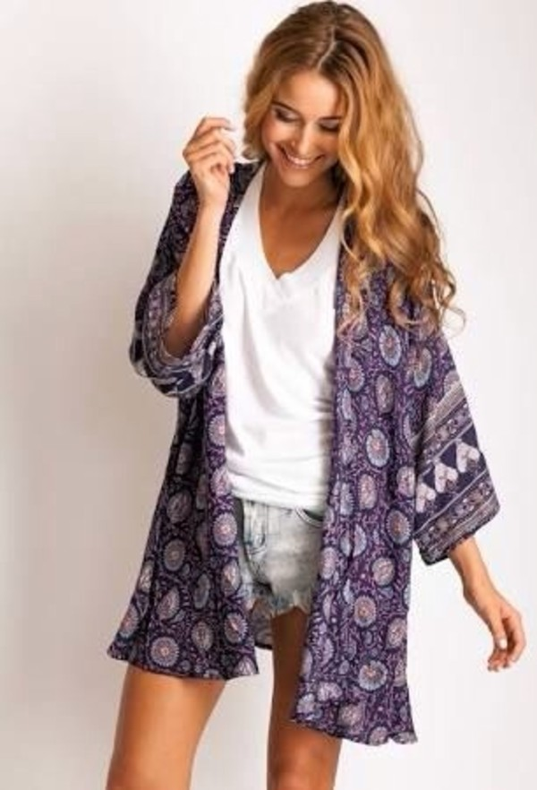 jacket sweater t-shirt kimono white cardigan