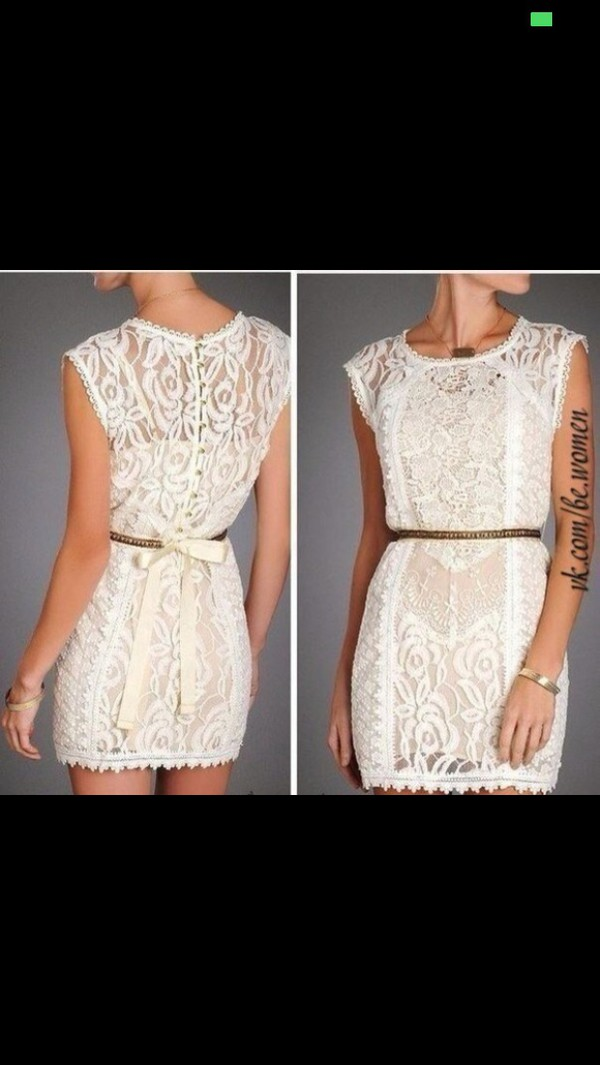 dress white dress white lace dress prom dress short party dresses summer dress sexy dress