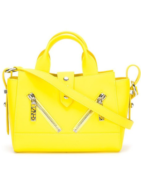Kenzo yellow orange bag