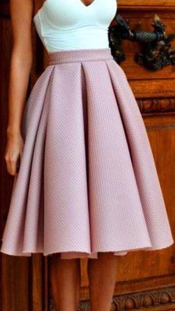 skirt shirt classy
