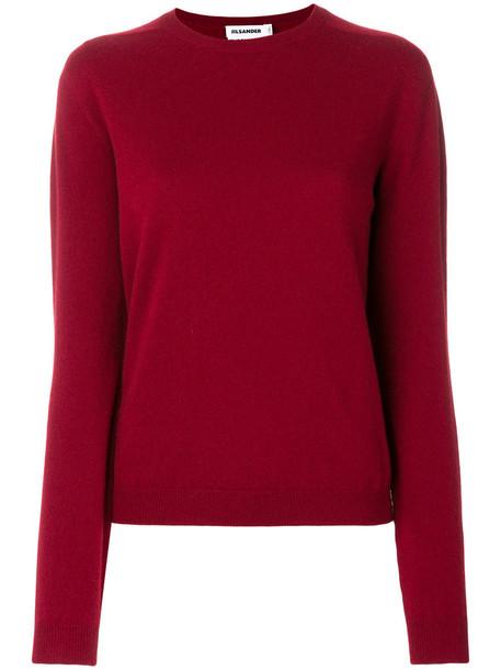 Jil Sander jumper women red sweater