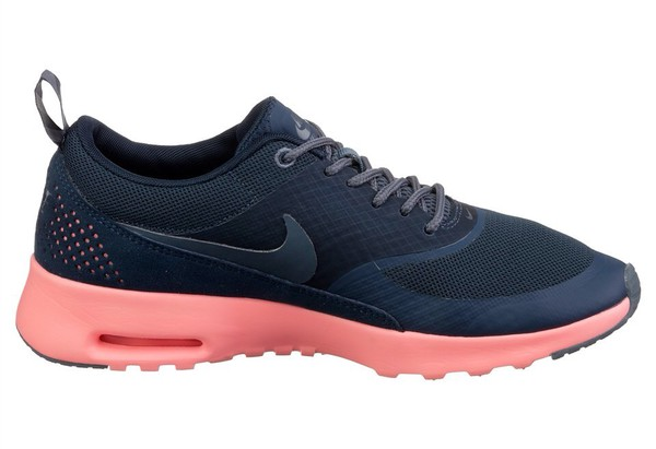 shoes nike air max thea navy /atomic pink