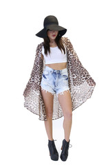 A Walk on the Wild Side Leopard Kimono – 87th&lex