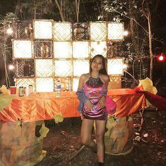 dress liberated heart festival clothes festival set velvet set