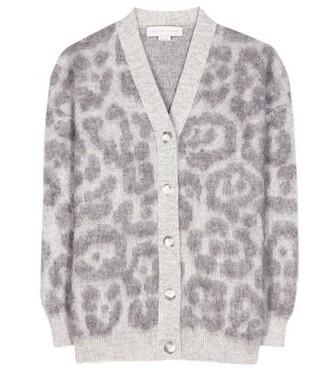 cardigan mohair grey sweater