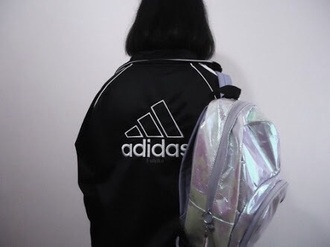bag holographic ghetto grunge home accessory jacket fuhiko