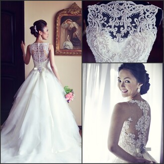 skirt vintage wedding dress lace wedding dress