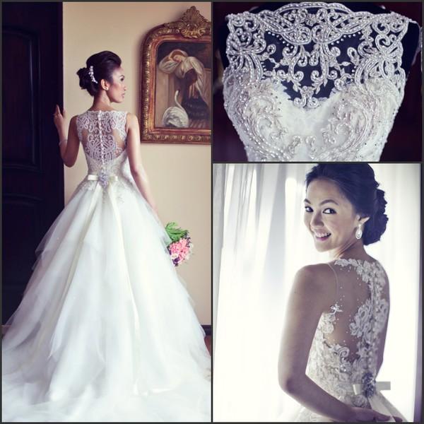 skirt vintage wedding dress lace wedding dress