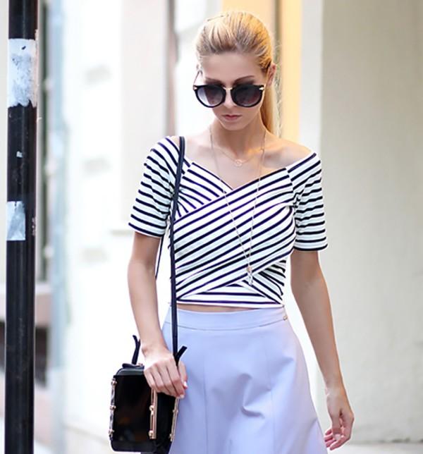 top t-shirt elegant look elegant streetstyle stylemoi summer outfits