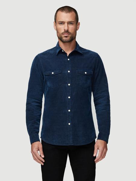 Long Sleeve Western Shirt Indigo