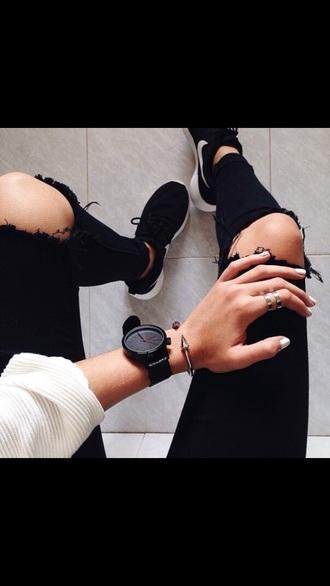 shoes jewels jewelry bracelets spikes titan titan bracelet cuff bracelet