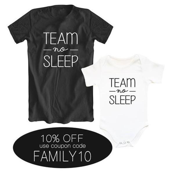 be426abcf5f85e t-shirt, sugararmyshop, team no sleep, matching family shirts ...