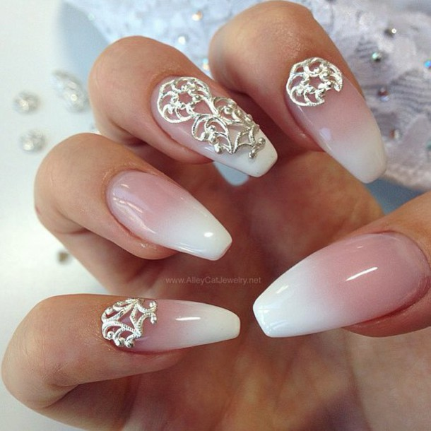 Nail Accessories Lace Jewels Wedding Nails