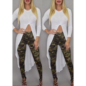 top camouflage leggings style trendy rose wholesale stylish casual