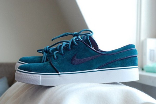 nike shoes for girls blue. shoes nike blue black sportswear active cool tumblr boy girl hot for girls