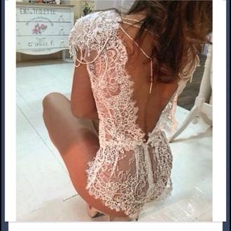 crochet sun lace fashion summer outfits jumpsuit crochet crop top bridal lingerie see through underwear lingerie lace lingerie
