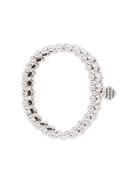 Philippe Audibert women grey metallic jewels