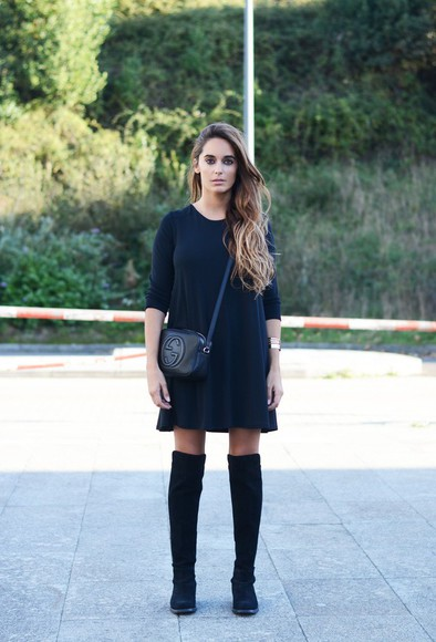 black boots blogger bag jewels stella wants to die