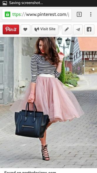 skirt pastel pink long skirt midi skirt tulle skirt