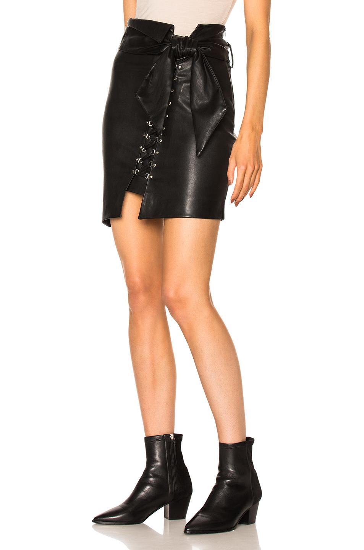 849676fa8 IRO Tinah Skirt in Black   FWRD