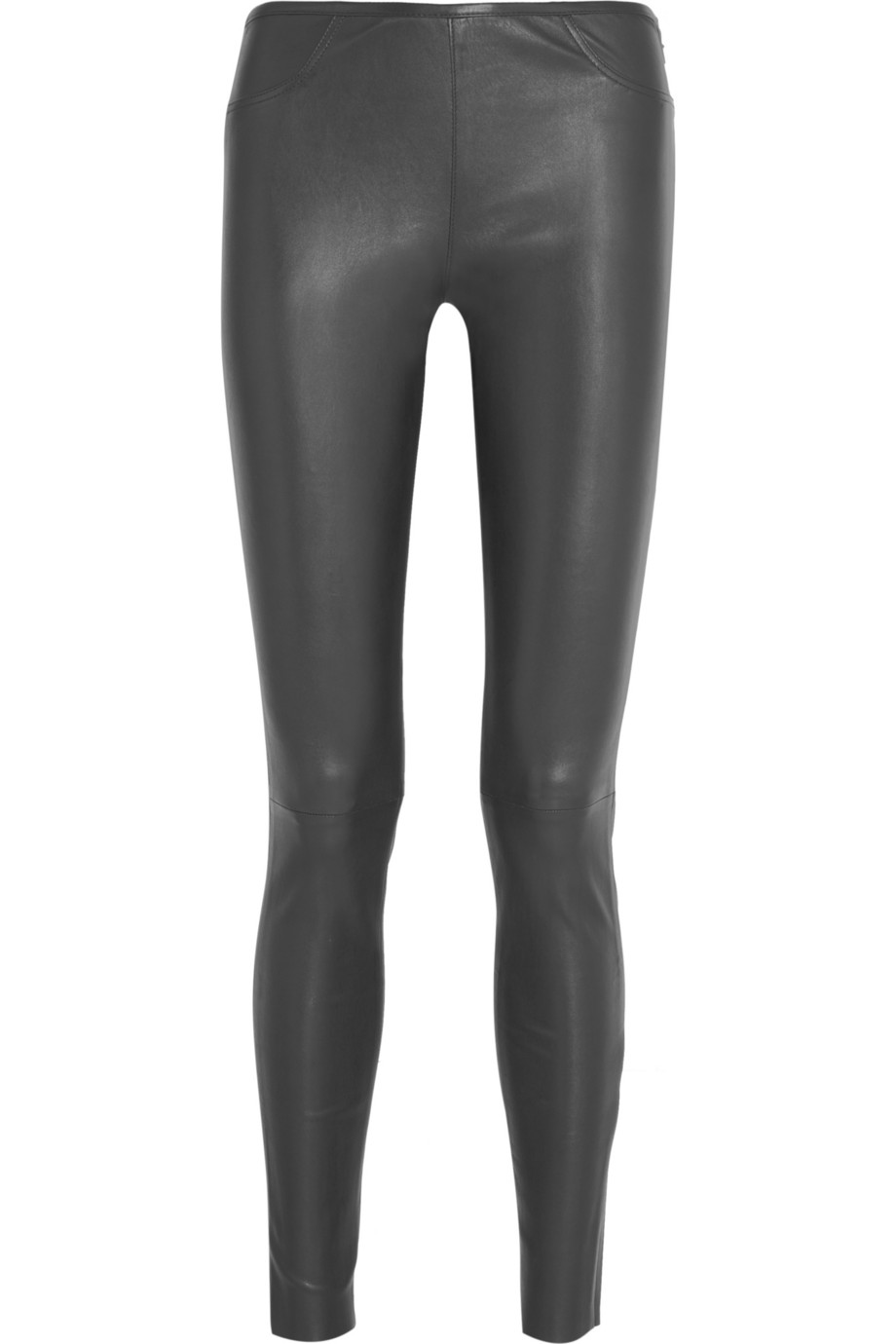 Iris & Ink Stretch-leather leggings – 0% at THE OUTNET.COM