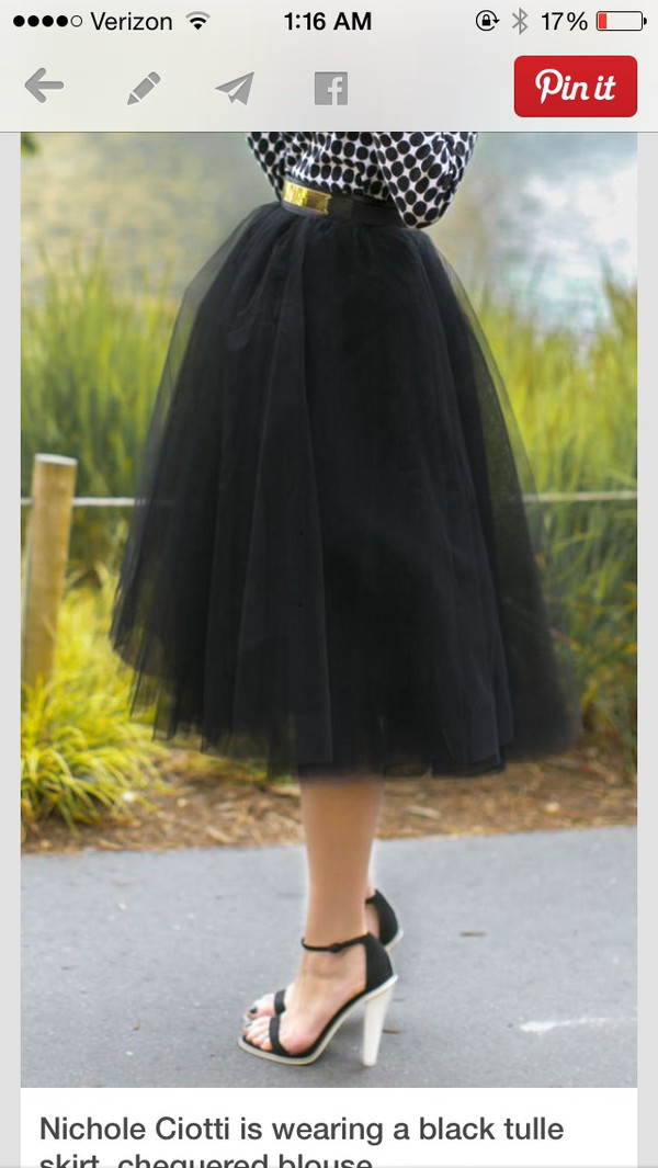 skirt black lace midi tulle skirt