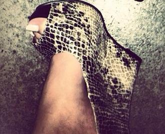 shoes snake print wedge snake print wedge wedge
