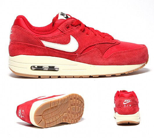 Junior Air Max 1 Suede / Nylon Trainer