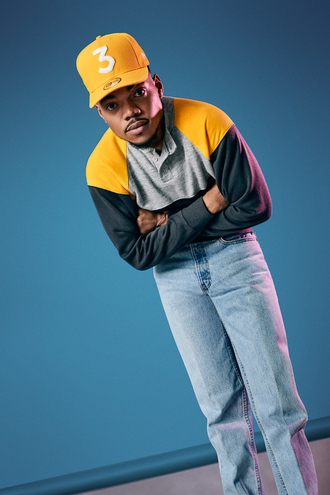 shirt yellow chance the rapper