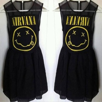 dress nirvana black