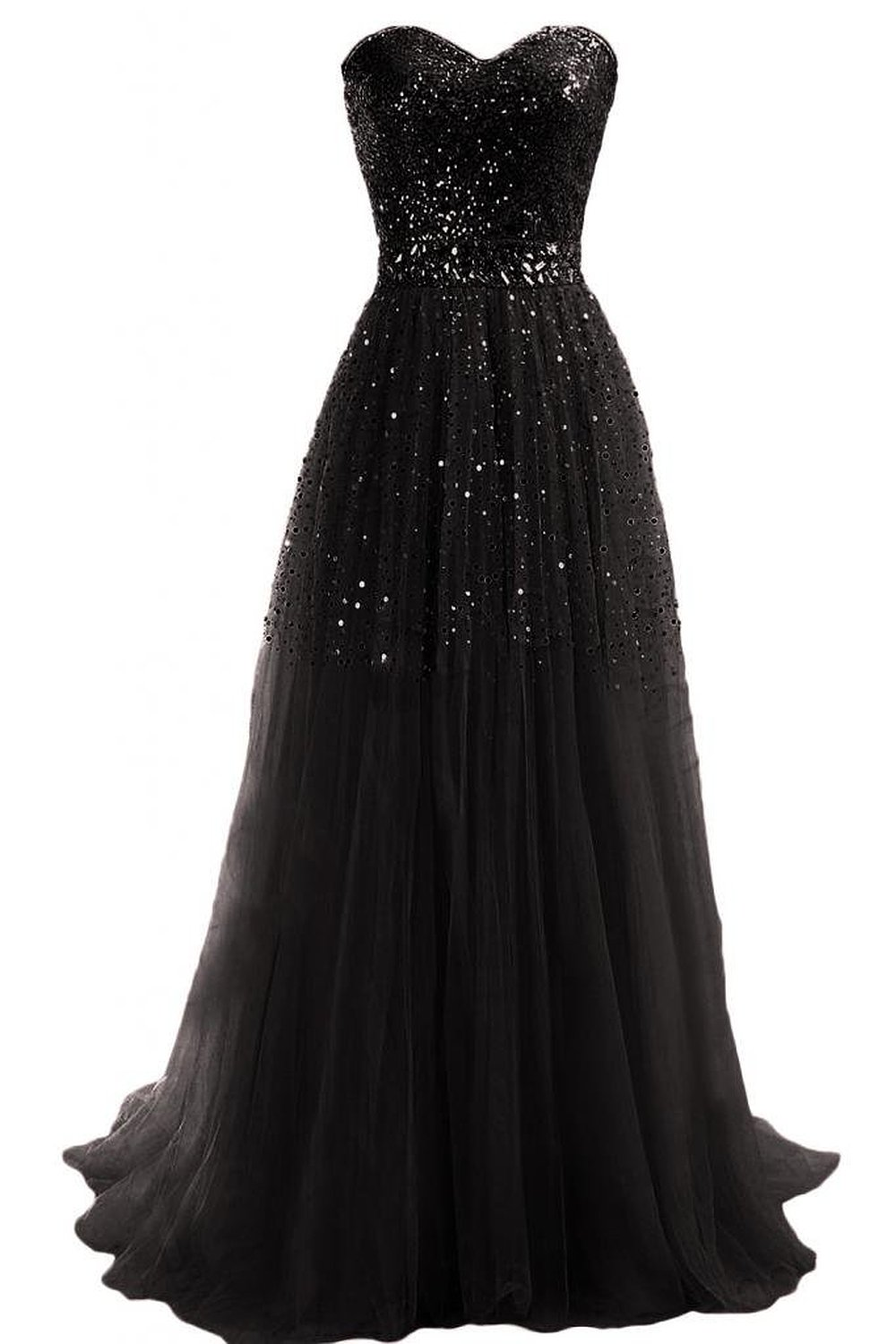 Emma Y Exquisite Sweetheart Tulle Long Prom Dress Party Gowns at Amazon Women's Clothing store:
