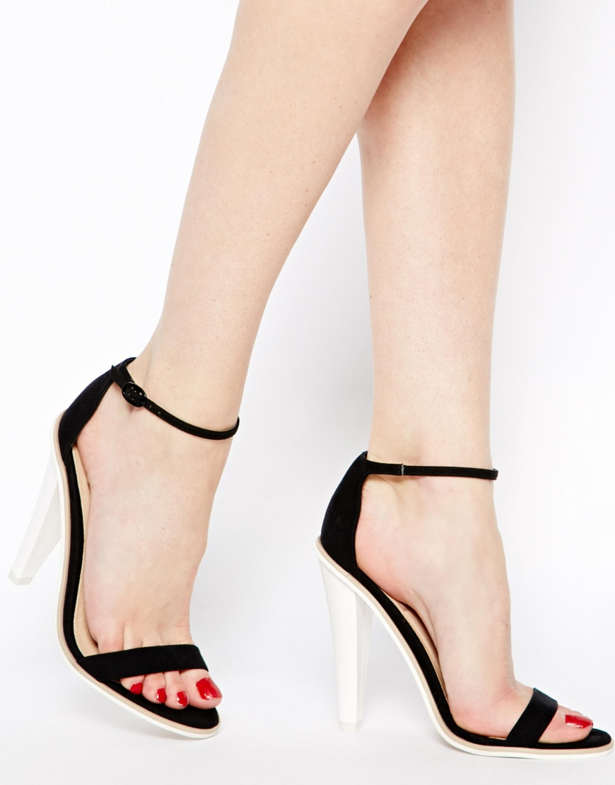 ASOS HOLBORN Heeled Sandals at asos.com