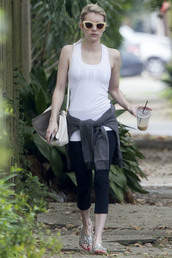 sunglasses,leggings,emma roberts,sports bra,underwear,bag