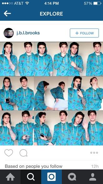 jai brooks luke brooks youtuber paisley hoodie