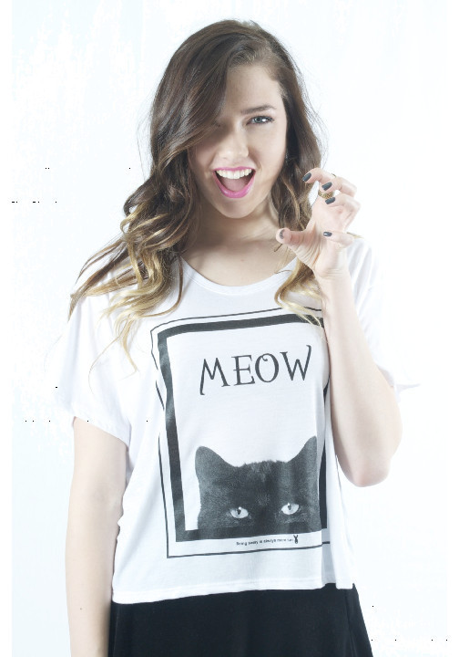PLL Spotted-PRETTY KITTY Boxy Tee | ROYAL RABBIT
