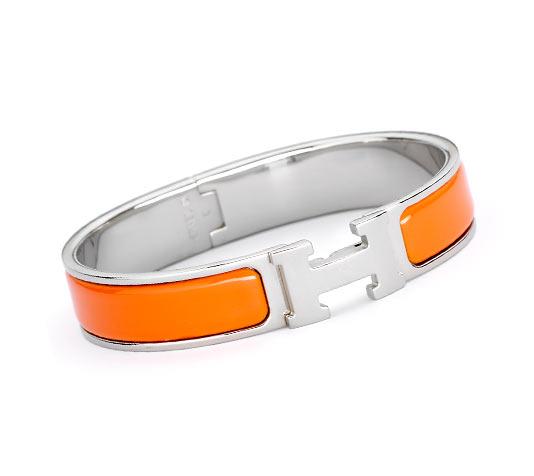 08cc46d544 Bijoux En Email Hermès Orange - Bracelets - Bijoux Et Montres | Hermès,  Site Officiel