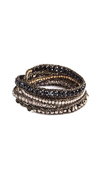 Chan Luu ombre black jewels