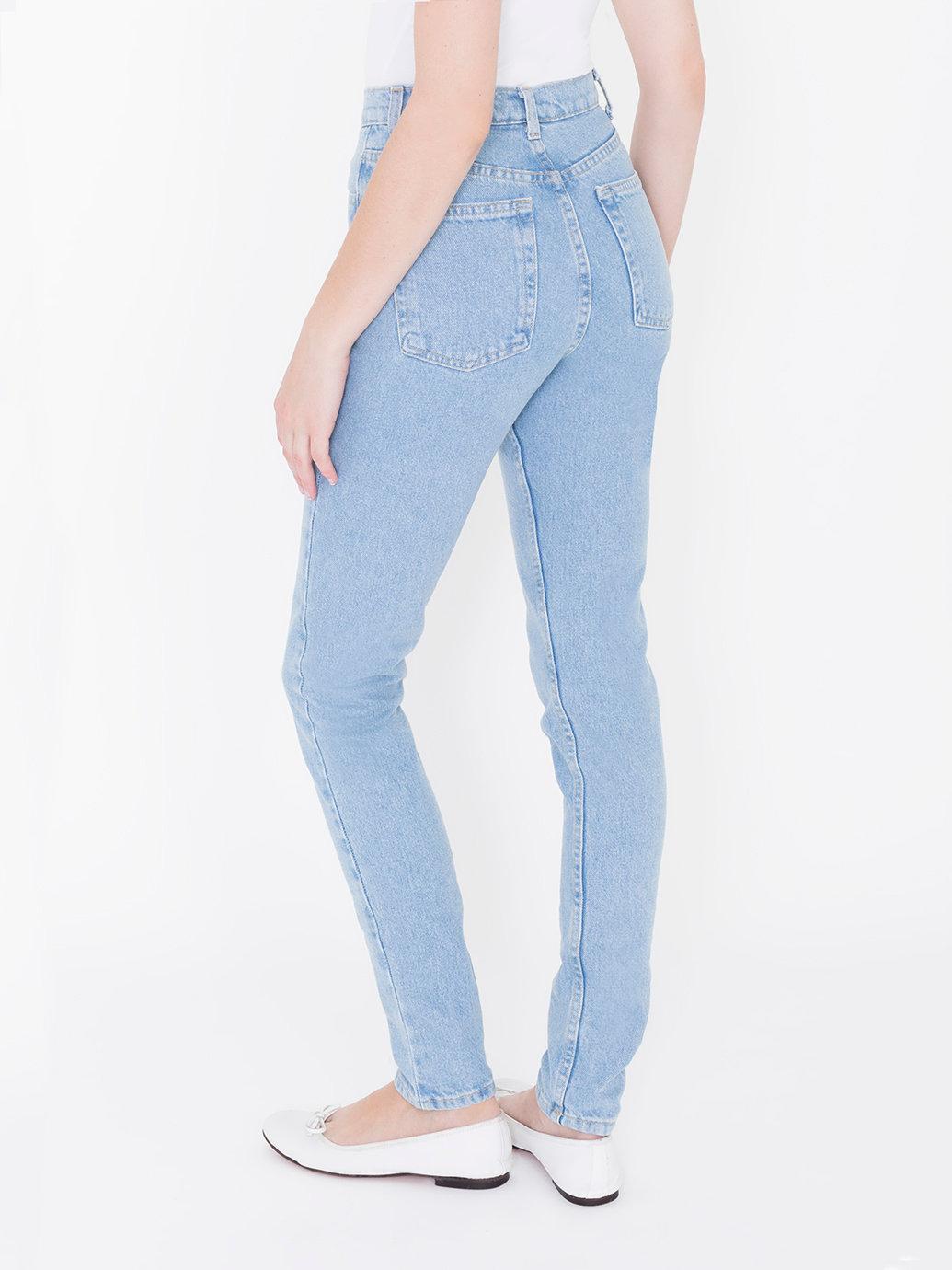 0ddc98a37460c4 Medium Wash High-Waist Jean