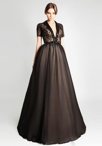 dress ball gown prom dress black black prom dress cool dress sexy dress evening dress floor length dress