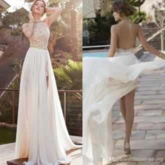 dress pearl prom lace