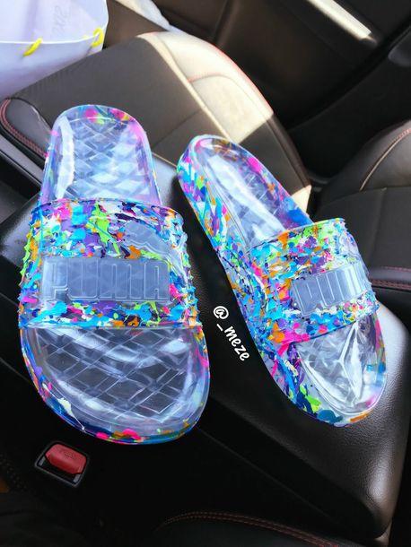 ea9349e7123b shoes pumas flip-flops clear puma flip flops