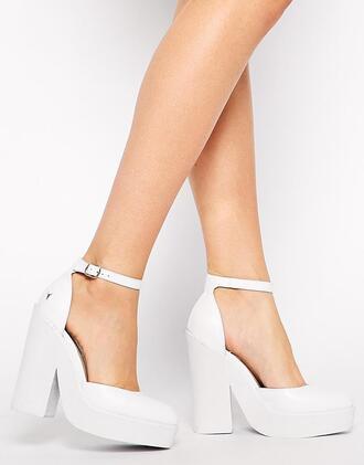 shoes platform shoes platform high heels ankle strap heels ankle strap
