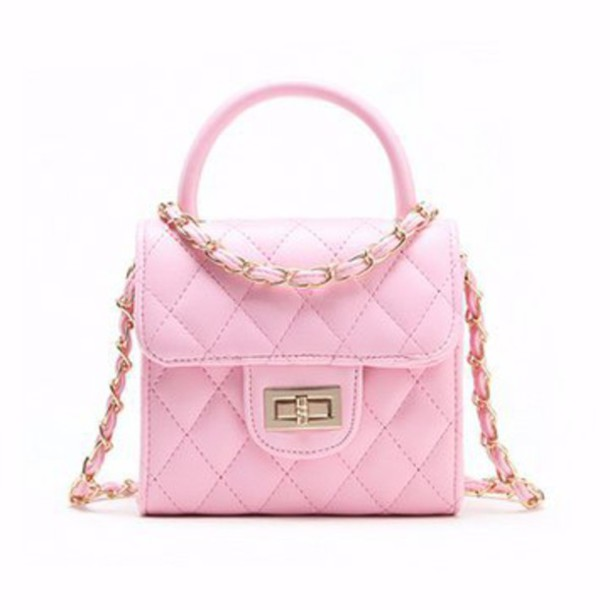e0173d00d92 bag, pink, purse, girly, cute, fashion, style, handbag, light pink ...