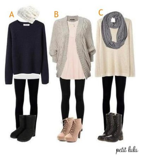 Sweater: clothes, scarf, hat, beanie, blue, nude, oversized ...