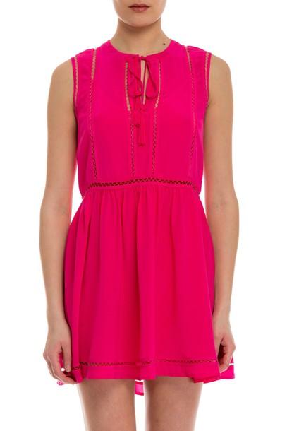 Parosh dress pink