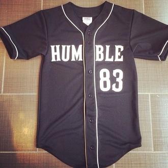 jersey baseball tee humble