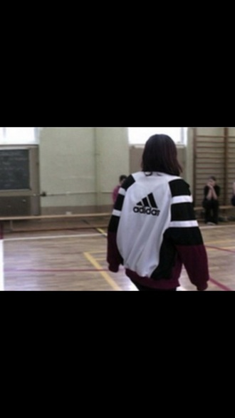 jacket adidas jumper adidas jumper adidas jacket girl warm black sweater