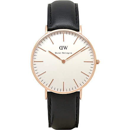 DANIEL WELLINGTON - 0508DW Classic Sheffield ladies watch | selfridges.com