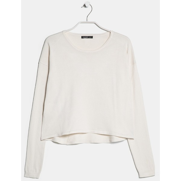 MANGO Cropped sweater - Polyvore