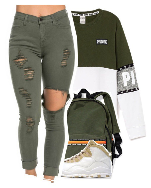 - Jeans: Olive Green, Skinny Jeans, Ripped Jeans - Wheretoget